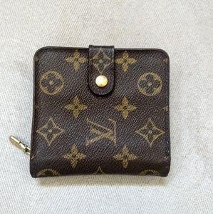 LOUIS VUITTON Mono Compact Zip Wallet